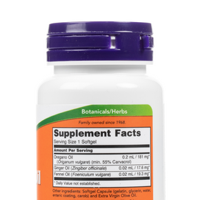 Now-OreganoOil-Softgels-SupplementFacts