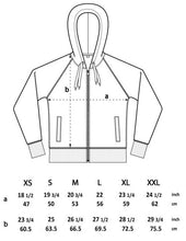 Load image into Gallery viewer, ZIPPER HOODIE