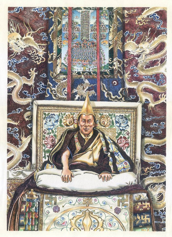His Holiness Biography Etchings