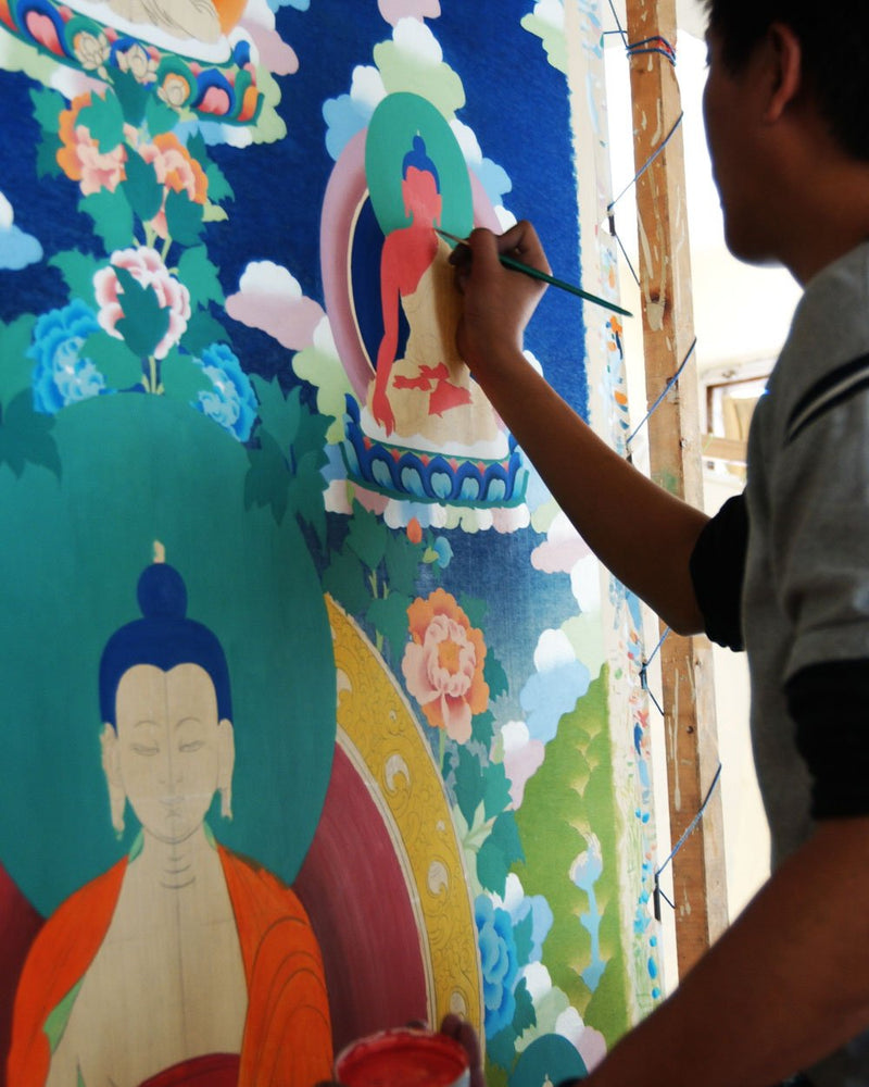 Custom Painted Thangkas