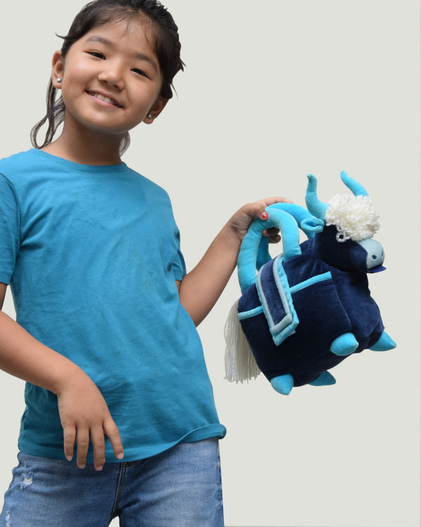 Kids Yak Bag, Blue/Turquoise