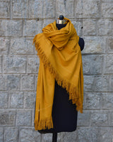 Buray Shawl, Mustard Yellow