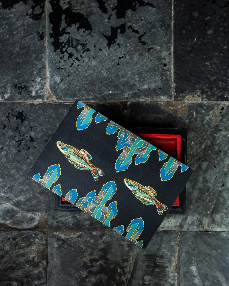 Fish Stationery Box