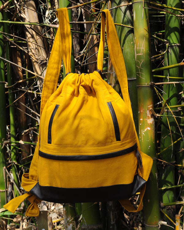 Unisex Backpack, Mustard