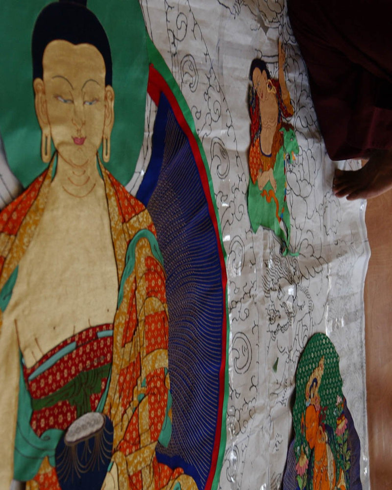 Custom Applique Thangkas
