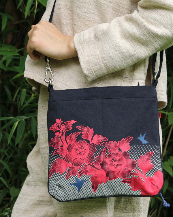 Birds & Flowers Sling Bag