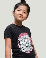 Snow Leopard T-shirt (Black)