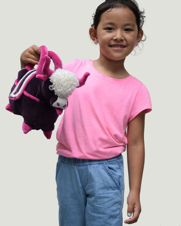 Kids Yak Bag, Purple/Pink