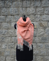 Wool Scarf Light - Salmon