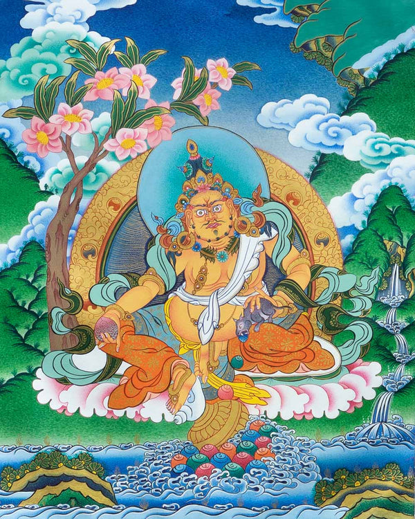 Zambhala Painted Thangka
