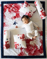 Birds and Flowers Baby Bedding Set