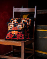 Eternal Knot Applique Cushion Cover (Red)
