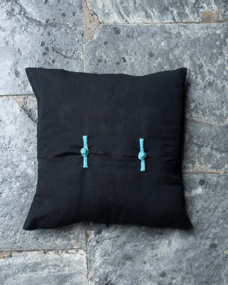 Eternal Knot Cushion Cover Set (Blue)