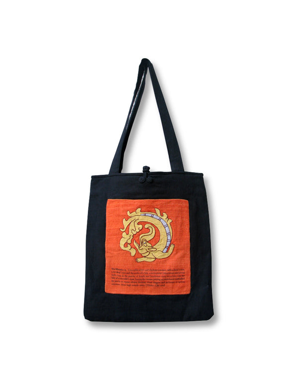 Tibetan Shopping Bag, Sea Monster