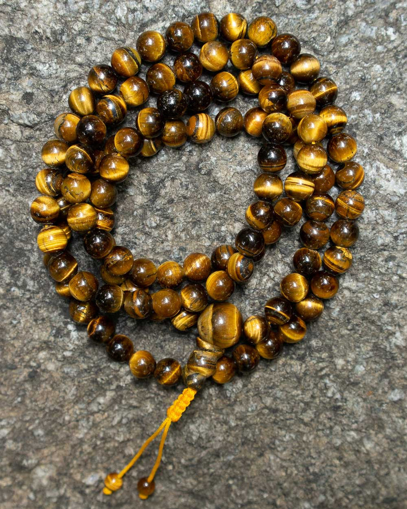 Yellow Tiger Eye Mala