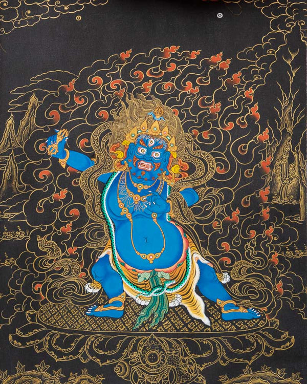 Vajrapani Painted Thangka