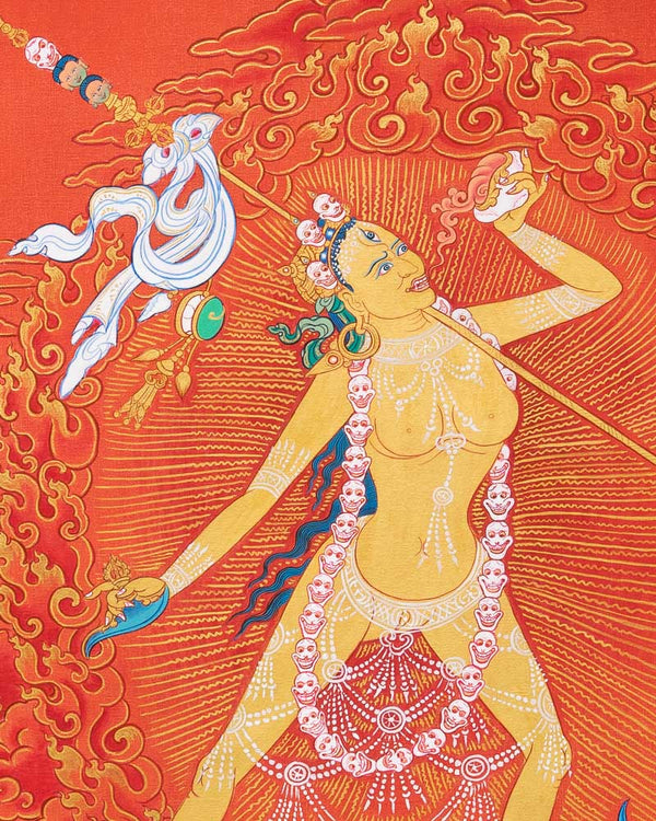 Vajrayogini Painted Thangka