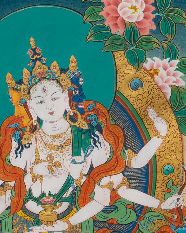 Vijaya Painted Thangka