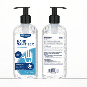 DailyGard 70% Ethyl Alcohol Gel Hand Sanitizer with Pump, 16.9 fl oz, Case Pack of 24 Bottles
