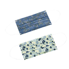 Load image into Gallery viewer, Laura Ashley 3-Ply Disposable Face Masks Floral Vine/Henrietta (5 Pack)