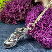 Load image into Gallery viewer, Lovely Irish Dance Shoe Necklace