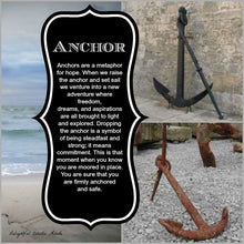 Load image into Gallery viewer, Mermaid Anchor Necklace