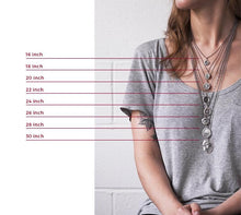 Load image into Gallery viewer, Round Yoga Pose Necklace
