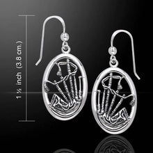 Load image into Gallery viewer, Celtic Bagpipes Earrings