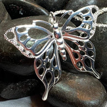 Load image into Gallery viewer, Earrach Butterfly Necklace