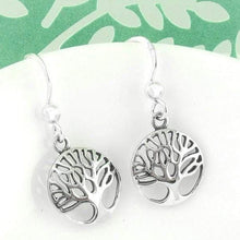 Load image into Gallery viewer, Petite Tree of Life Earrings