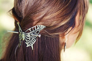 Victorian Butterfly Hair Slide