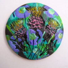 Load image into Gallery viewer, Scotland Triple Thistle Brooch