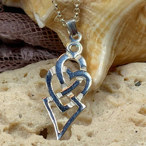 Fior Celtic Love Knot Necklace