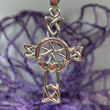 Load image into Gallery viewer, Mo Ghrá Claddagh Celtic Cross