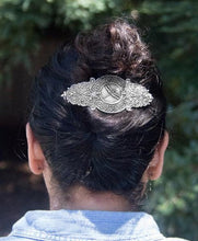 Load image into Gallery viewer, Filigree Dragonfly Hair Clip