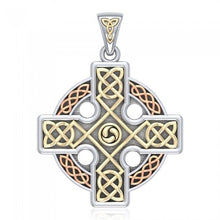 Load image into Gallery viewer, Bellavary Celtic Cross Necklace