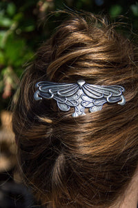 Celtic Leaf Hair Clip