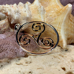 Arawn Celtic Spiral Necklace