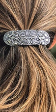 Load image into Gallery viewer, Celtic Peacock Hair Clip