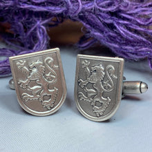 Load image into Gallery viewer, Lion of Scotland Cuff Links