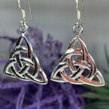 Load image into Gallery viewer, Trinity Knot Design Earrings