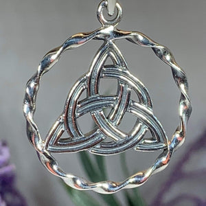 Celtic Triquetra Knot Necklace