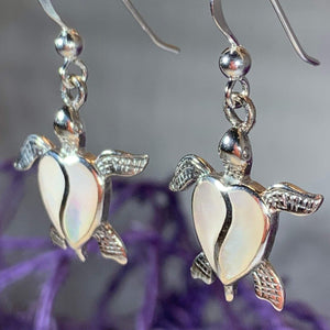 Farraige Turtle Love Earrings