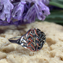 Load image into Gallery viewer, Silver Celtic Knot Ring