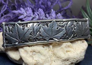 Maple Leaf Hair Clip