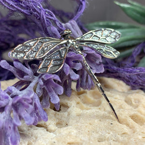 Realistic Dragonfly Necklace