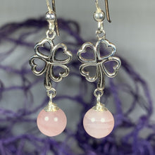 Load image into Gallery viewer, Four Leaf Clover Earrings