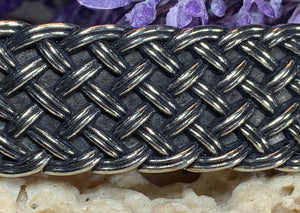 Celtic Weave Hair Clip