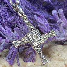 Load image into Gallery viewer, Saint Brigid's Cross Necklace
