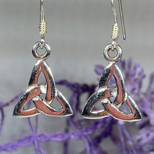 Petite Trinity Knot Earrings